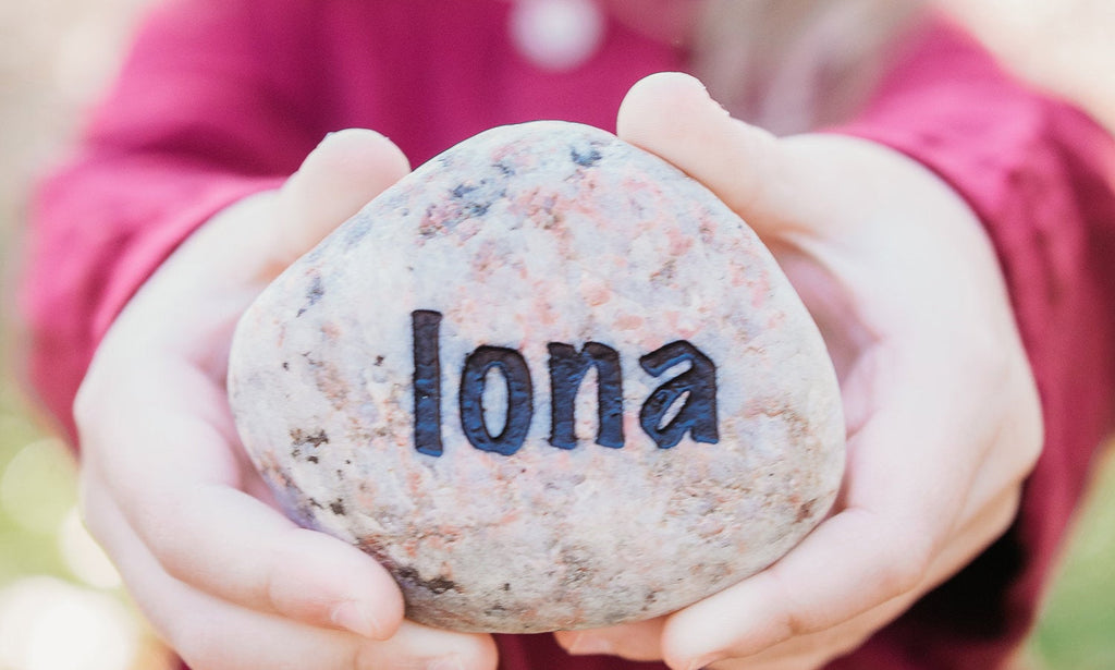 Individual Personalized  Name Rocks - Gift for Grandma - Engraved Rock - Keepsake Gift - Family Rock - Family Keepsake - God Rocks