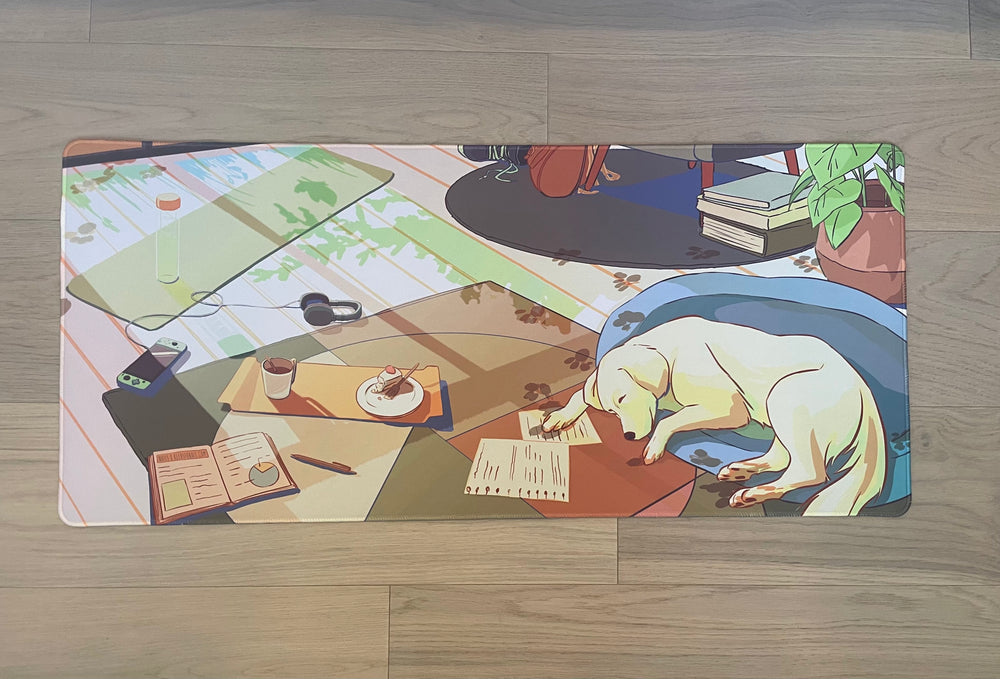 [Pre-Order] Lazy Afternoon Desk Mat