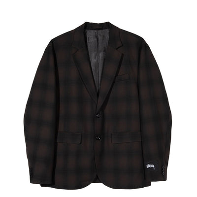 STUSSY - SHADOW PLAID SPORT COAT