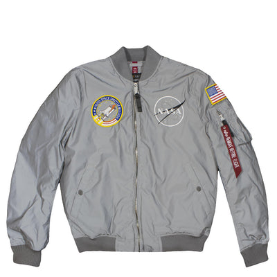 ALPHA INDUSTRIES - MA-1 NASA REFLECTIVE JACKET