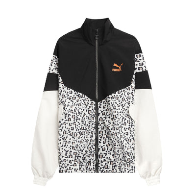 PUMA - WOMEN'S PRINTED TRACK JACKET
