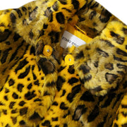 STAND STUDIO - MAXINE COAT YELLOW LEO