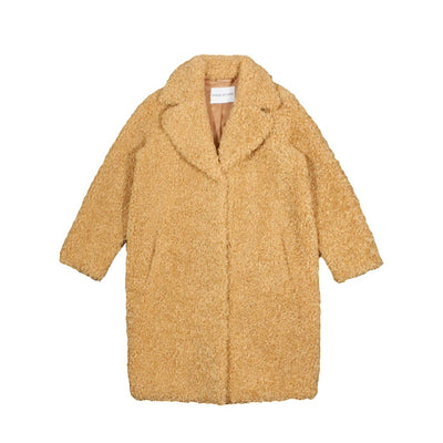 STAND STUDIO - CAMILLE COCOON COAT CAMEL