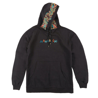 MAHARISHI - Liberty Dragon Hodeed Sweat Black