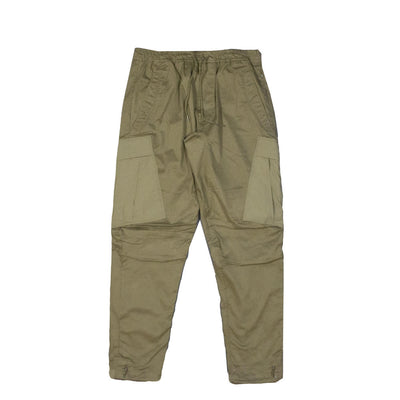 MAHARISHI - WOVEN CARGO TRACKPANTS · MIL SPEC CELLULOSE OLIVE