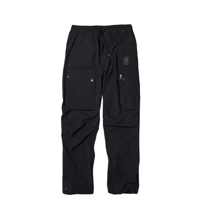 MAHARISHI - Veg Dyed Cargo Trackpants · Japanese Nylon Ripstop BLACK