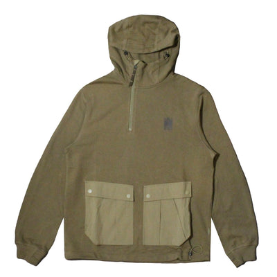 MAHARISHI - Tech Hooded Sweat · Organic Cotton Sweat 450 OLIVE
