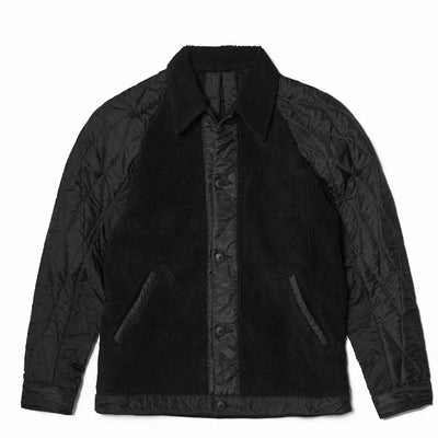 MAHARISHI - Upcycled Grizzly Jacket Black