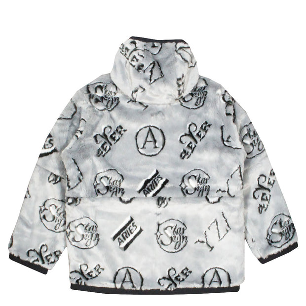 ARIES - REVERSIBLE FURRY PARKA