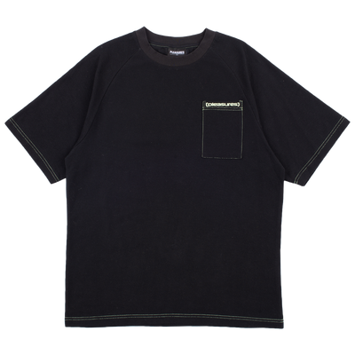 PLEASURES - VULGAR RAGLAN SHIRT BLACK