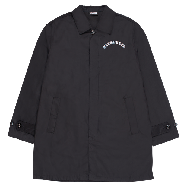 PLEASURES - TOXIC LONG JACKET BLACK