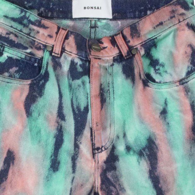 BONSAI - PAINTED DENIM  WORKSHORT