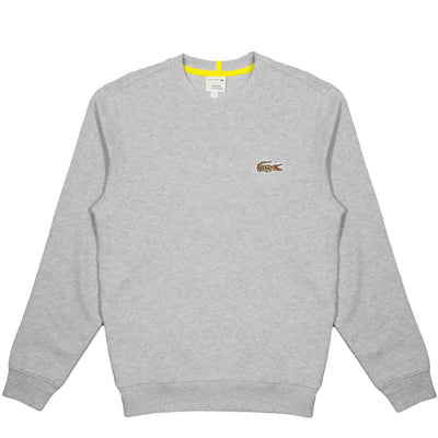 NATIONAL GEOGRAPHIC x LACOSTE - CREWNECK JAGUAR SWEATSHIRT