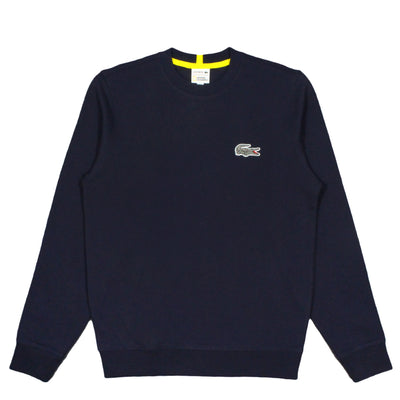 NATIONAL GEOGRAPHIC x LACOSTE - CREWNECK ZEBRA SWEATSHIRT