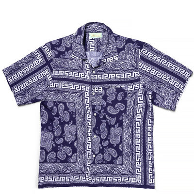 Aries - Bandana Print Hawaiian Shirt