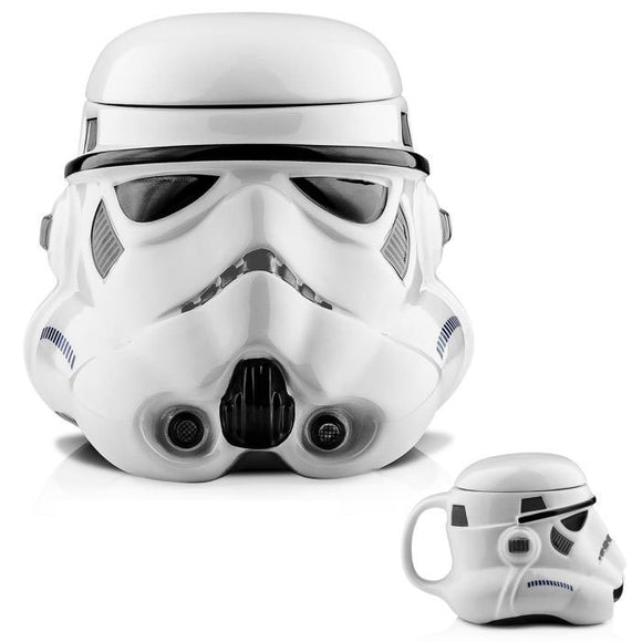 3D Ceramic Coffee mug double wall tea cup Star Wars Darth Vader and the white knight ceramic star wars mug Cups