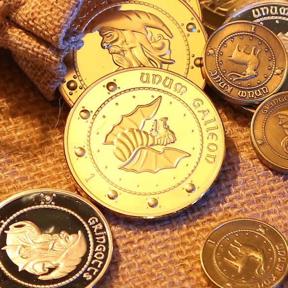 Hogwarts Gringotts Bank Coin Cosplay Collection