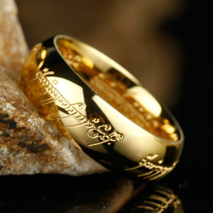 UNISEX: Gold Color Rings, Lords of the rings