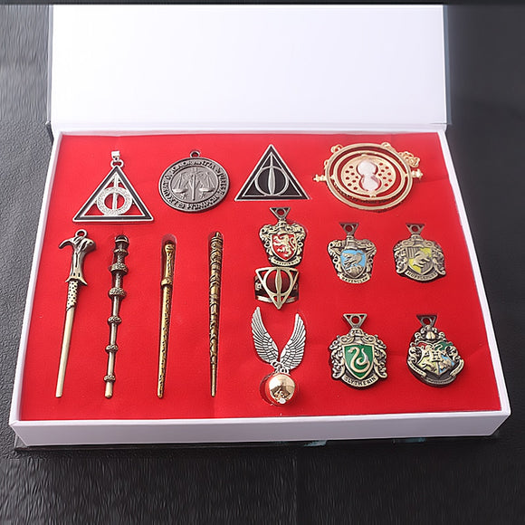HOGWARTS Magic Wand  KeyChain Set