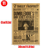 Harri Potter poster vintage journal