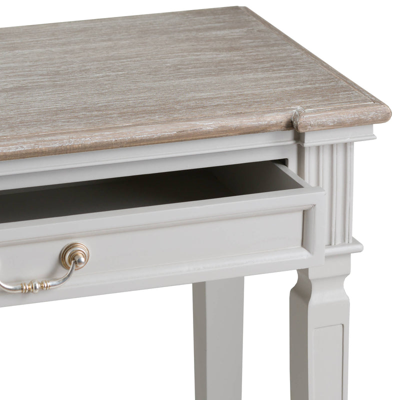 The Liberty Collection Two Drawer Hall Table With Shelf
