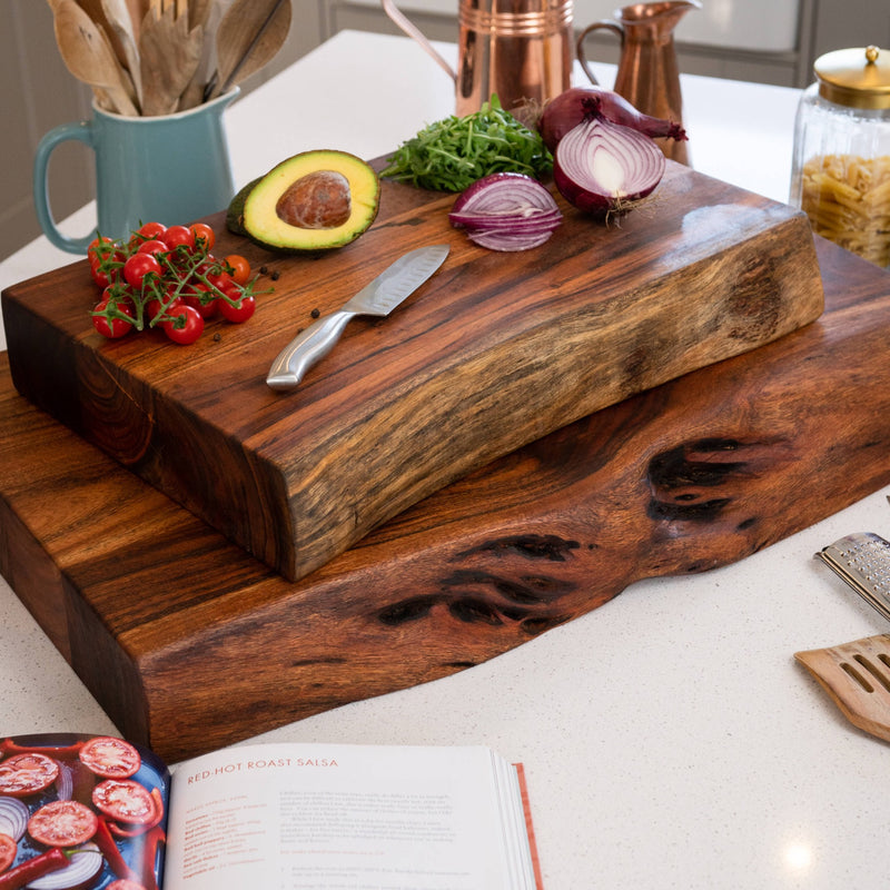 Live Edge Collection Large Pyman Chopping Board