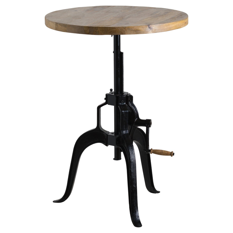 Draftsman Adjustable Bar Bistro Table