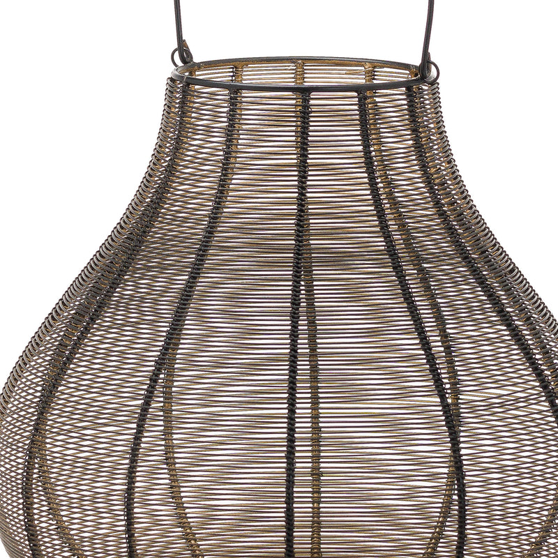 Large Glowray Bulbos Wire Lantern