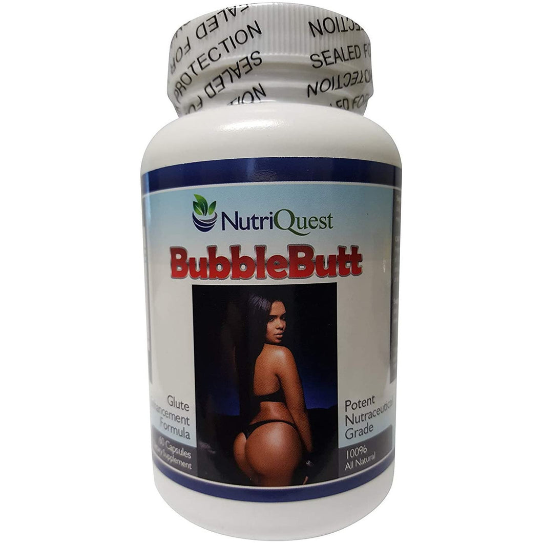Bubble Butt Enhancement | Enlargement Capsules | Pills (1 Bottle)
