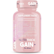 Load image into Gallery viewer, NutriThick Weight Gain & Enhancement Capsules | Butt & Breast Enlargement Appetite Stimulant