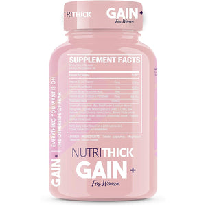 NutriThick Weight Gain & Enhancement Capsules | Butt & Breast Enlargement Appetite Stimulant