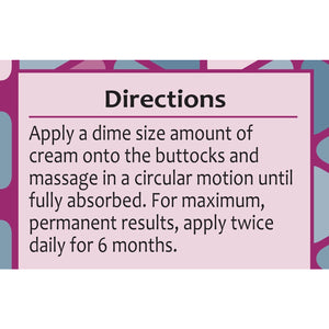 Booty Magic Butt Enhancement Cream - 2 Month Supply