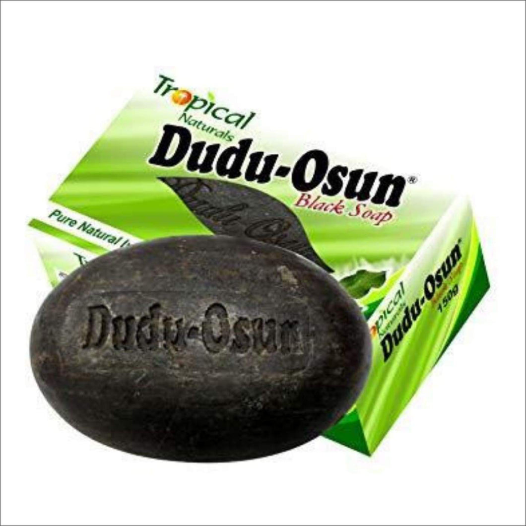 Tropical Naturals Dudu Osun African Black Soap(100% pure) 150g - 1 Unit - Health and Cosmetics