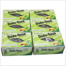 Load image into Gallery viewer, Tropical Naturals Dudu Osun African Black Soap(100% pure) 150g - Pack of 6 ( $ 1.66/Unit ) Health and Cosmetics