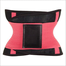 Load image into Gallery viewer, women slimming body shaper waist Belt girdles Control Waist trainer corset Shapwear modeling strap - Pink / S / China