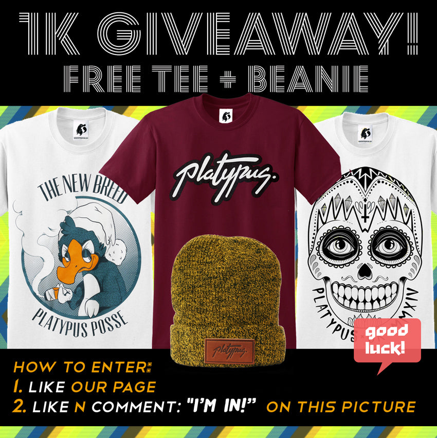 t-shirt giveaway facebook rules