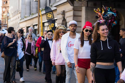 Nottingham Streetwear at the independent clothing fashion show