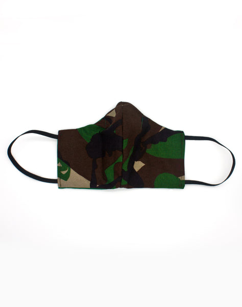 Handmade Alternative style face masks in camo covid-19 protection