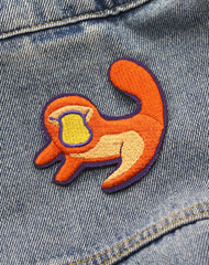 The Lion King Simba Sew on Embroidered Patches for Denim Jackets | Platypus Independent Clothing & Accessories