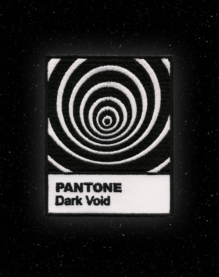 Pantone Dark Void Iron-on Patch