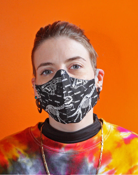 Alternative unisex fashion designer face masks made in uk