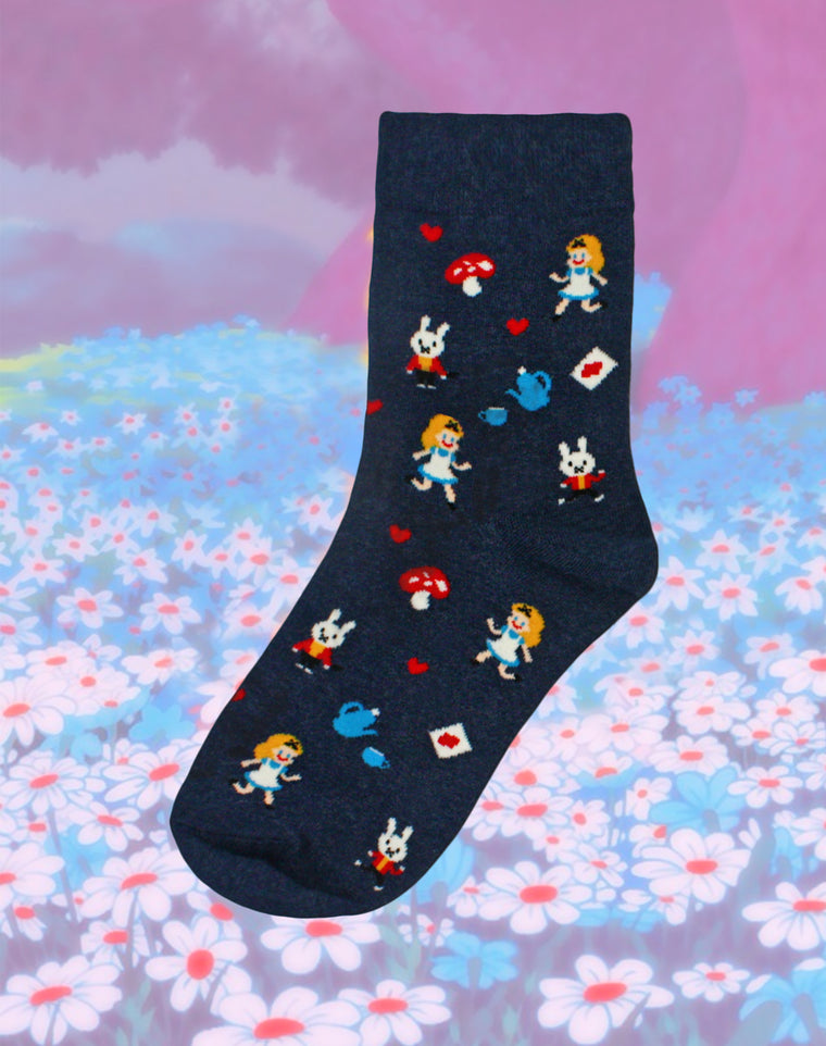 Alice's Tea Party Women's Socks