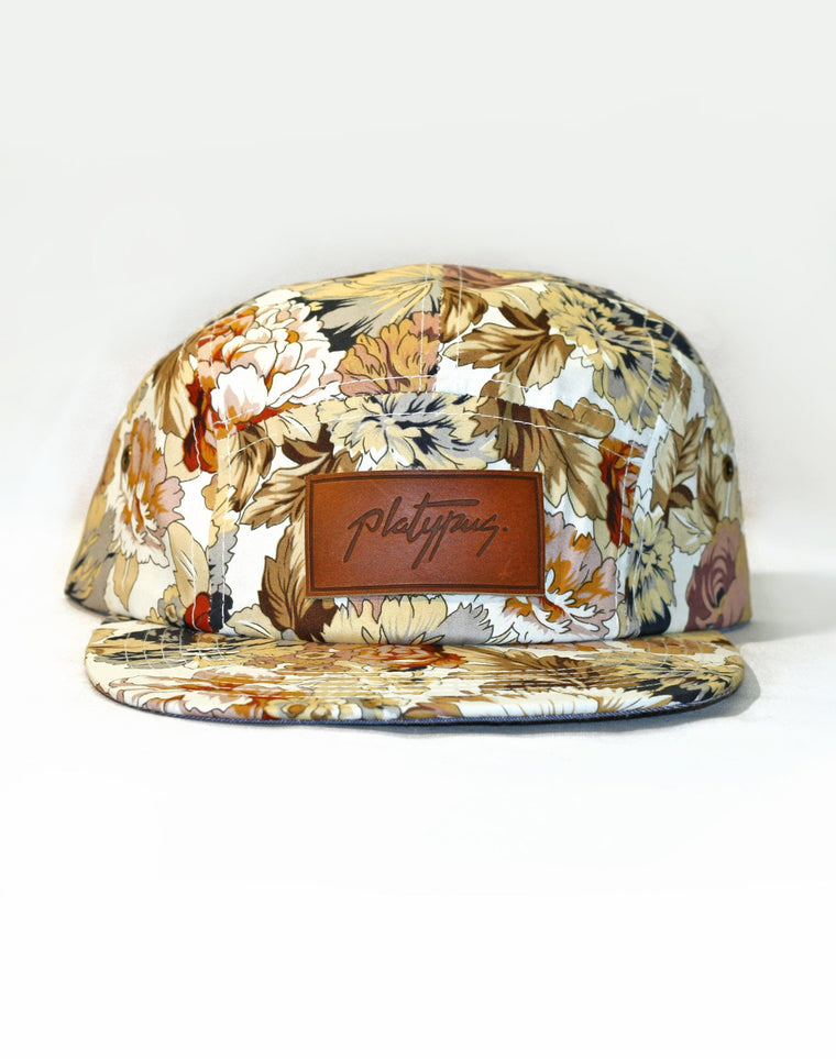 Autumn Floral 5-Panel Platypus Cap