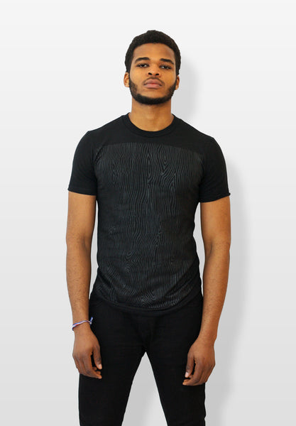 Organic Wood Grain T-shirt