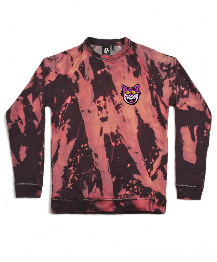 We're All Mad Here Acid Wash Sweatshirt
