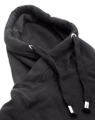 NOPE Not Today Type Cowl Neck Platypus Black Hoodie with Pocket