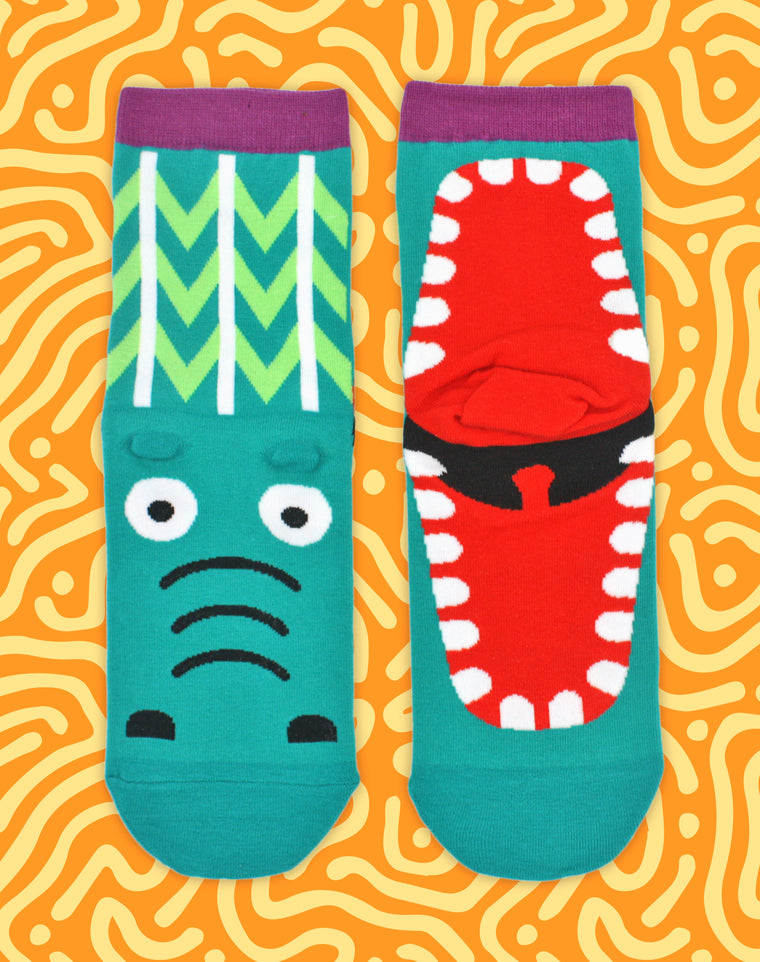 Crocodile Snap Unisex Socks