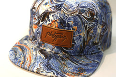 Close up Platypus Clothing Marble Pattern Snapback hat