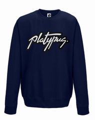 Platypus Logo Urban Sweatshirt in French Navy