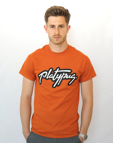 Platypus Logo - Sunset Orange T-Shirt